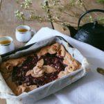 Crostata di Aronia e crema pasticcera