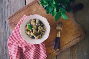 gnocchi patate tartufo salvia