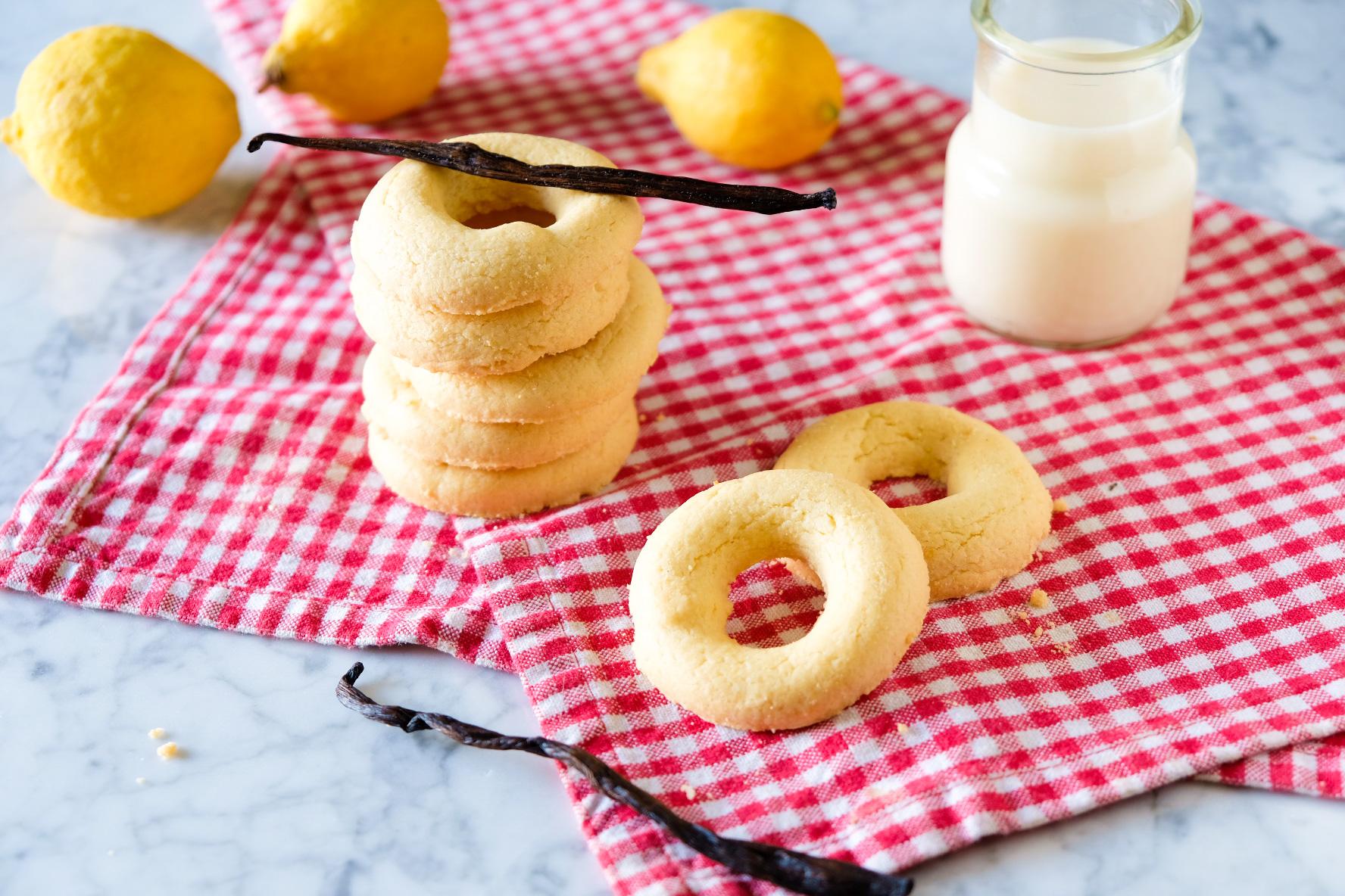 biscotti al limone vaniglia colazione merenda